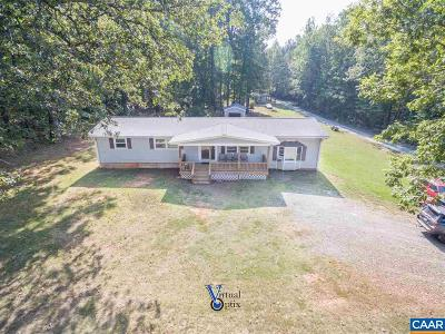 Fluvanna County Single Family Home For Sale: 4218 Cedar Lane Rd