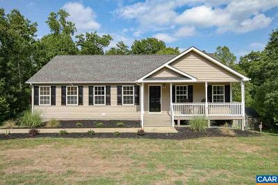 Fluvanna County Single Family Home For Sale: 7350 James Madison Hwy