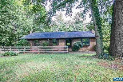 Charlottesville Single Family Home For Sale: 2610 Kimbrough Cir