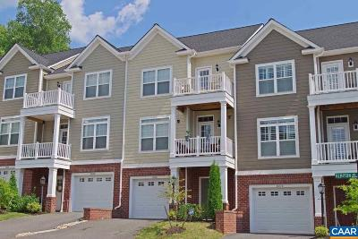 Pavilions At Pantops Townhome For Sale: 1606 Kempton Pl