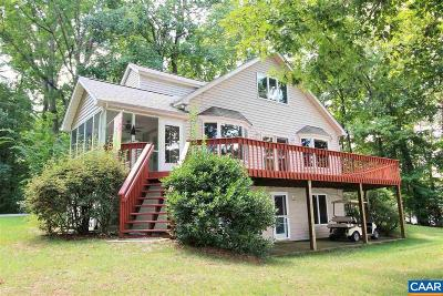 Louisa, Louisa County Single Family Home For Sale: 53 Point Dr
