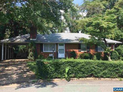Charlottesville Single Family Home Active W/Kickout: 108 Linda Ct
