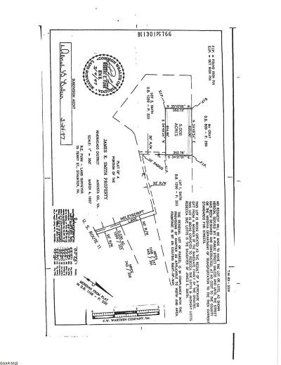 Augusta County Lots & Land For Sale: Holeyscript Ln
