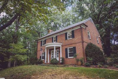 Staunton Single Family Home For Sale: 40 College Cr