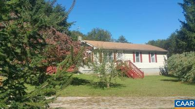 Louisa County Single Family Home For Sale: 107 Halls Store Rd