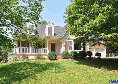 Gordonsville Single Family Home For Sale: 18340 Cameron Rd