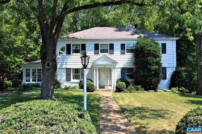 Albemarle County Single Family Home Sold