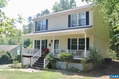 Fluvanna County Single Family Home For Sale: 8 Deerpath Rd