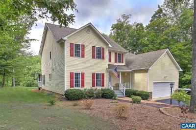 Louisa County Single Family Home For Sale: 64 Elnor Rd