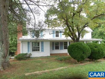 Nelson County Single Family Home For Sale: 186 Shiloh Loop