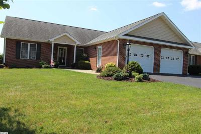 Staunton Single Family Home For Sale: 123 Red Oak Dr