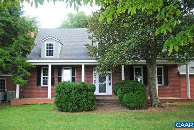Gordonsville VA Single Family Home For Sale: $1,100,000
