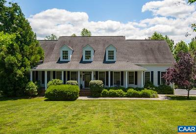 Louisa, Louisa County Single Family Home For Sale: 111 Distan Ct