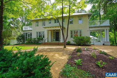Charlottesville Single Family Home For Sale: 1930 Thomson Rd