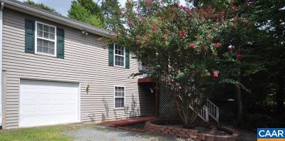Fluvanna County Single Family Home For Sale: 26 Chippewa Ln