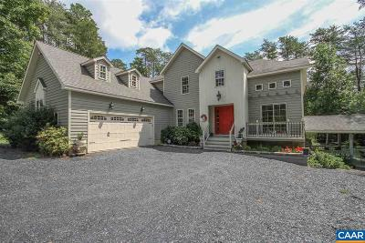 Fluvanna County Single Family Home For Sale: 115 Taylor Ridge Way