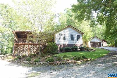Nelson County Single Family Home For Sale: 3917 Laurel Rd