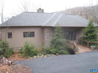 Wintergreen Single Family Home For Sale: 39 Pitcher Plant Ln
