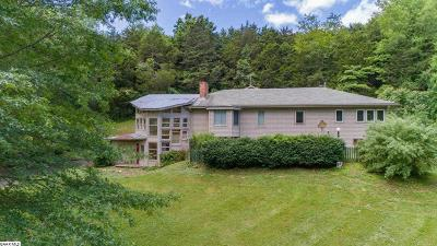 Single Family Home For Sale: 1381 Walkers Creek Rd