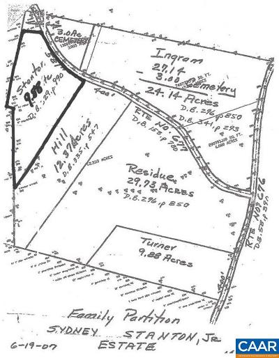 Buckingham County Lots & Land For Sale: NW Brooks Hall Rd