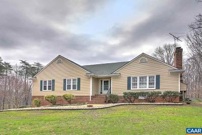 Louisa County Single Family Home For Sale: 212 Copper Line Rd