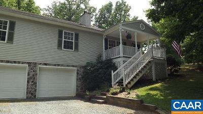 Fluvanna County Single Family Home For Sale: 1 Brougham Rd