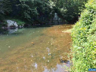 Nelson County Lots & Land For Sale: 8900c Rockfish River Rd