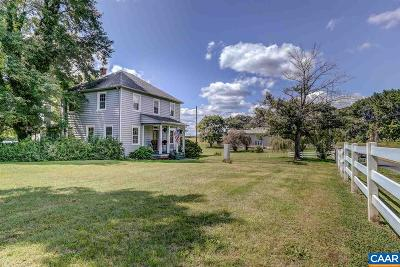 Louisa County Single Family Home For Sale: 4637 Fredericks Hall Rd