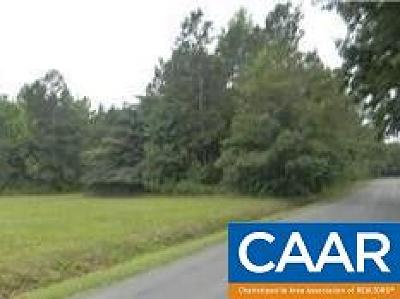 Fluvanna County Lots & Land For Sale: Jordan Store Rd