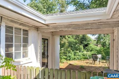 Charlottesville Single Family Home For Sale: 1628 Saint Annes Rd