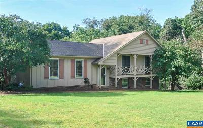 Earlysville Single Family Home For Sale: 675 Spring Lake Dr