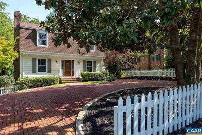 Charlottesville Single Family Home For Sale: 102 Surrey Rd