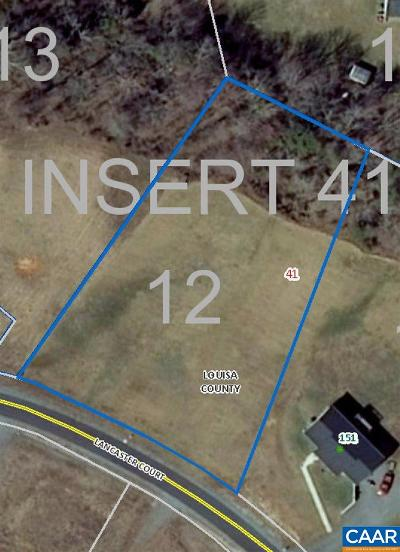 Louisa Lots & Land For Sale: 12 Lancaster Ct