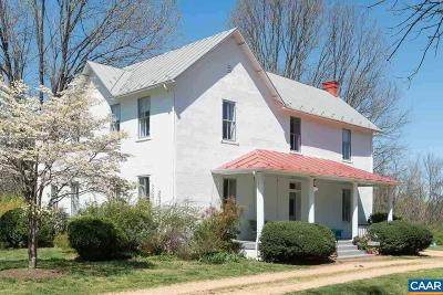 Albemarle County Single Family Home For Sale: 7466 Greenwood Station Rd