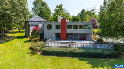 Charlottesville Single Family Home For Sale: 2969 And 2965 Catlett Rd