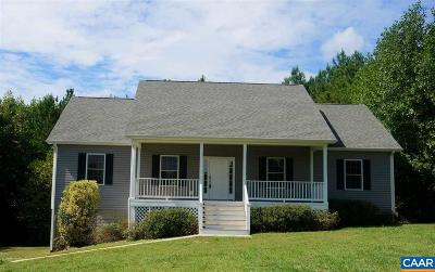 Buckingham County Single Family Home For Sale: 244 Ridge Ln
