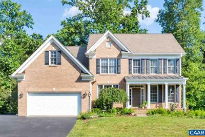 Charlottesville Single Family Home For Sale: 1719 Monet Hill