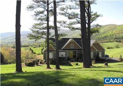 Gordonsville Single Family Home For Sale: Lot C Harvest Ln