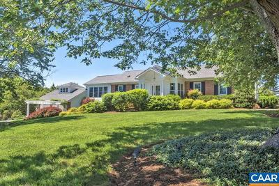 Albemarle County Single Family Home For Sale: 843 Campbell Rd