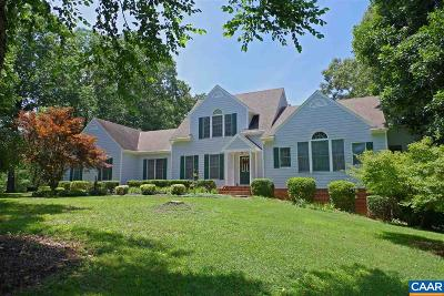 Earlysville Single Family Home For Sale: 3620 Graemont Dr