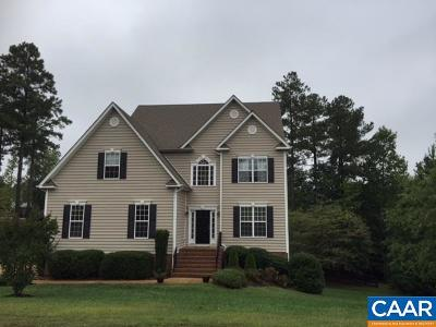 Louisa County Single Family Home For Sale: 34 Whispering Woods Pl
