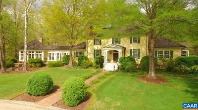 Albemarle County Single Family Home For Sale: 3396 Fox Mountain Rd