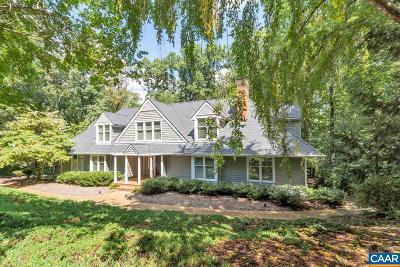 Charlottesville Single Family Home For Sale: 508 Rookwood Pl
