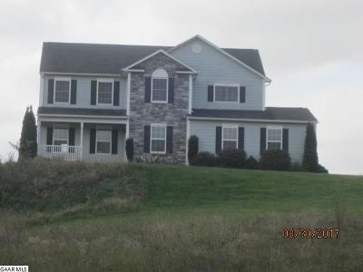 Waynesboro VA Single Family Home For Sale: $293,900