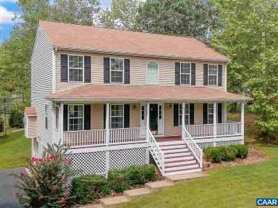 Fluvanna County Single Family Home For Sale: 3 Bridlewood Dr