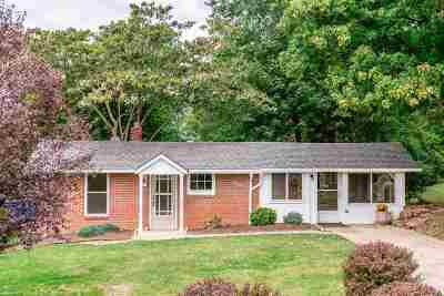 Harrisonburg Single Family Home For Sale: 1453 Hillside Ave