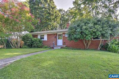 Charlottesville Single Family Home For Sale: 112 North Baker St