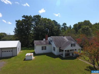 Buckingham County Single Family Home For Sale: 3862 S Mt Rush Hwy