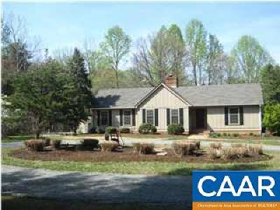 Charlottesville Single Family Home For Sale: 4084 Garth Rd