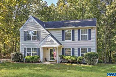 Louisa County Single Family Home For Sale: 3852 Campbell Rd